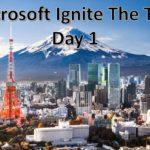 Microsoft Ignite The Tour 東京に参加してきました!Day 1